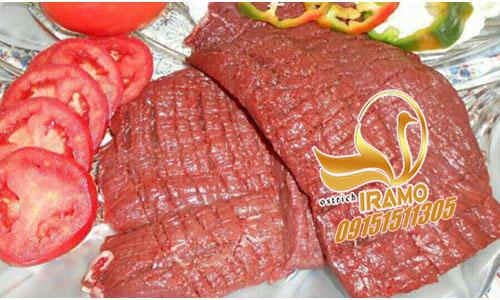 خرید گوشت تازه شترمرغ